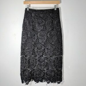 Blaque Label Lace Skirt